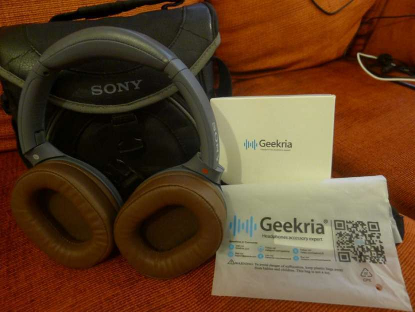 Auricular Sony WH-XB900N Bluetooth Extra Bass pads Geekria - 2