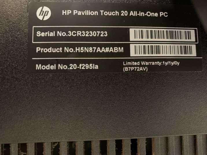 PC HP Pavilion táctil - 3