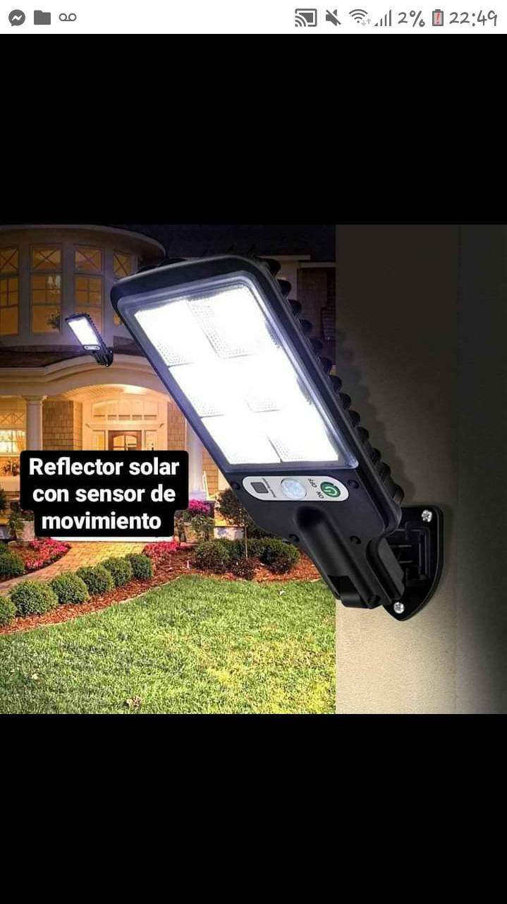 Reflector solar con sensor de movimiento - 5