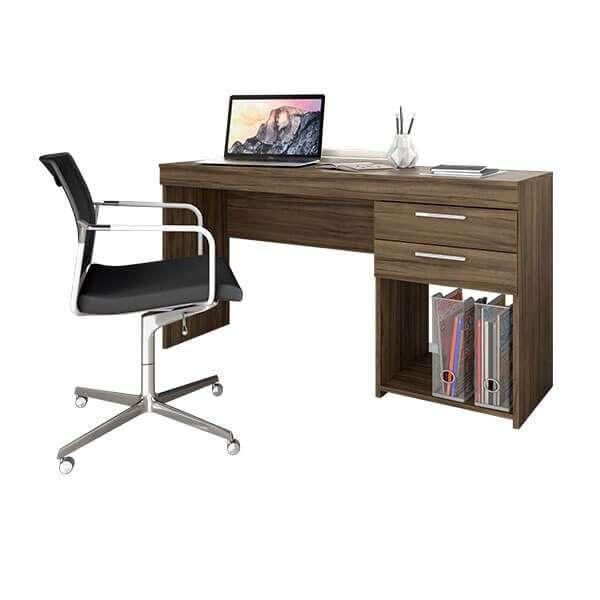 Escritorio Office marrón 120 cm (2238) ABBA - 0