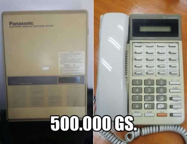 Centralita telefónica Panasonic - 0