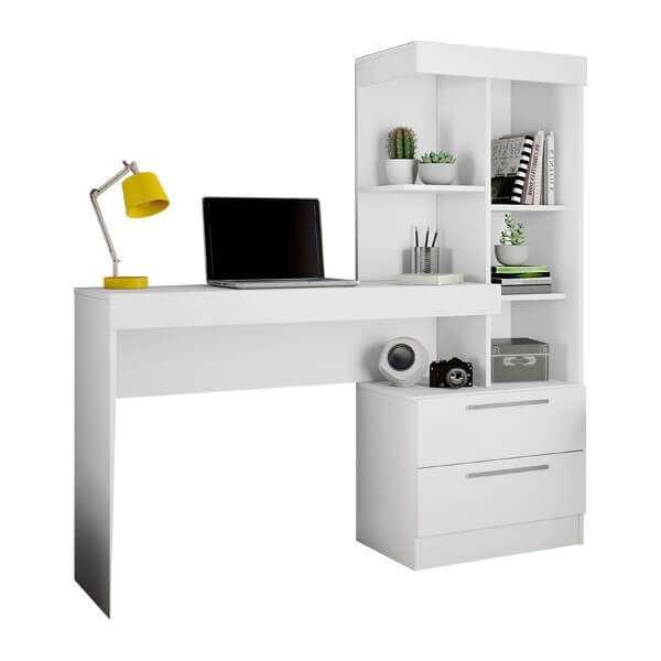 Escritorio Office c/ cómoda Abba blanco flex NT2010 (3142) - 0