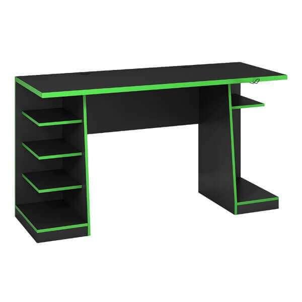 Mesa gamer NT2020 verde negro Abba (3141) - 0