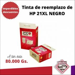 Tinta compatible a HP 21XL