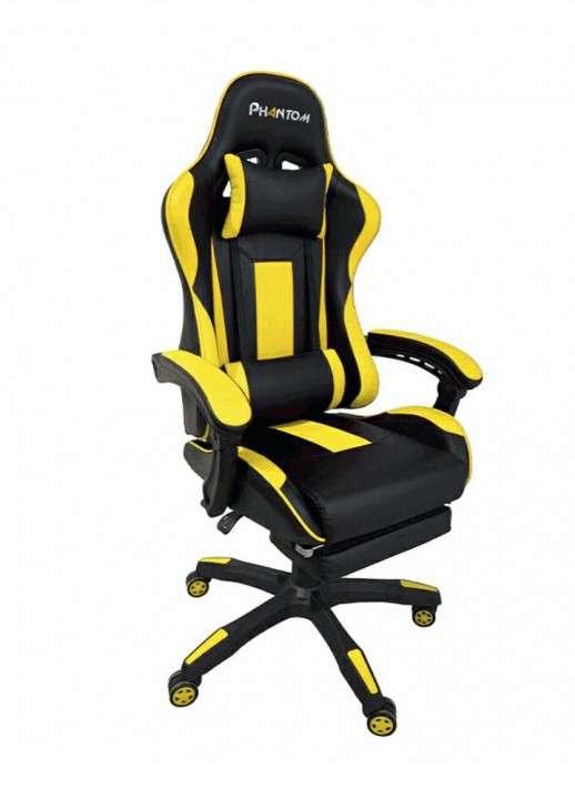 Silla gamer phantom empoli amarilla (hesx0039) - 0