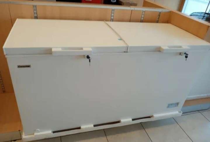 Congelador consumer 550 litros 2 puertas tapa ciega (3449) - 0