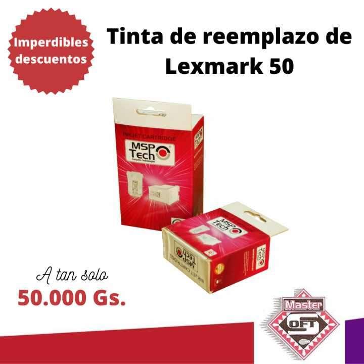 Tinta compatible a Lexmark 50 - 0