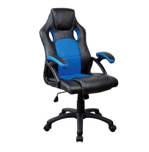 Silla gamer azul negro 110 kg (y2706b) - 0
