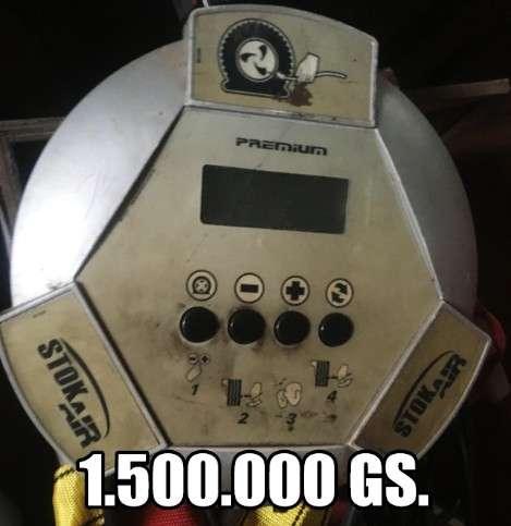 Calibrador de ruedas para estación de servicios - 0