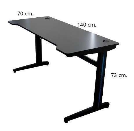 Mesa gamer Havit 140 cm (GD903) - 0