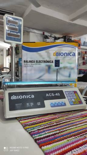 Balanza electronica bionica con torre (2945)