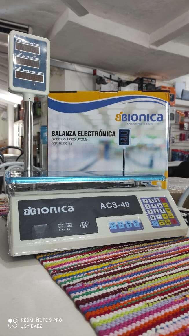 Balanza electrónica con torre Bionica 2945 - 0