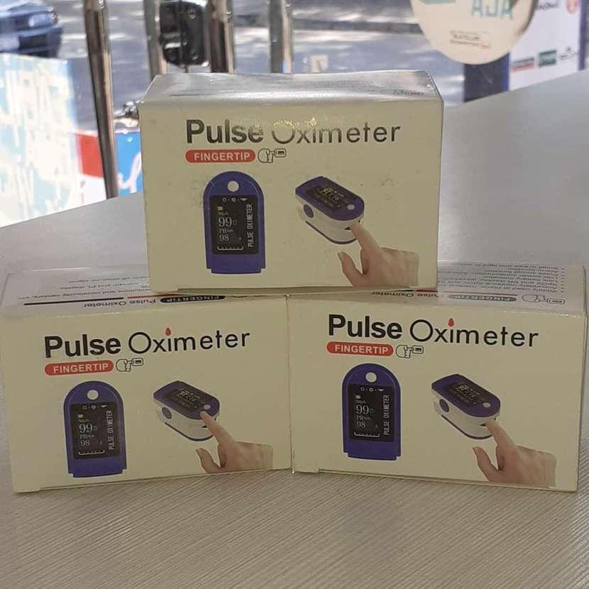 Oxímetro Saturómetro Digital Fingertip - 0