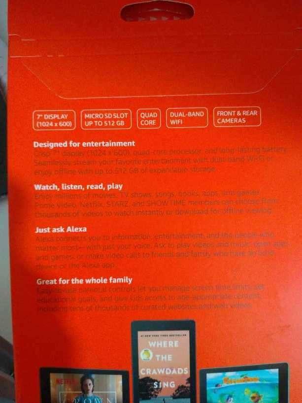 Tablet Amazon Fire 7 de 16 gb - 1