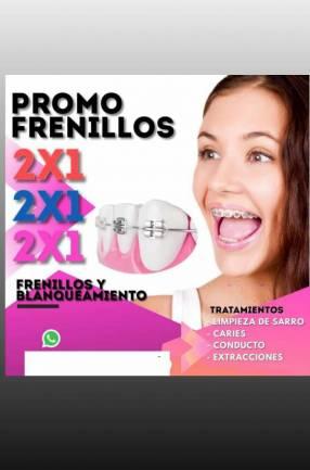 Frenillos 2x1