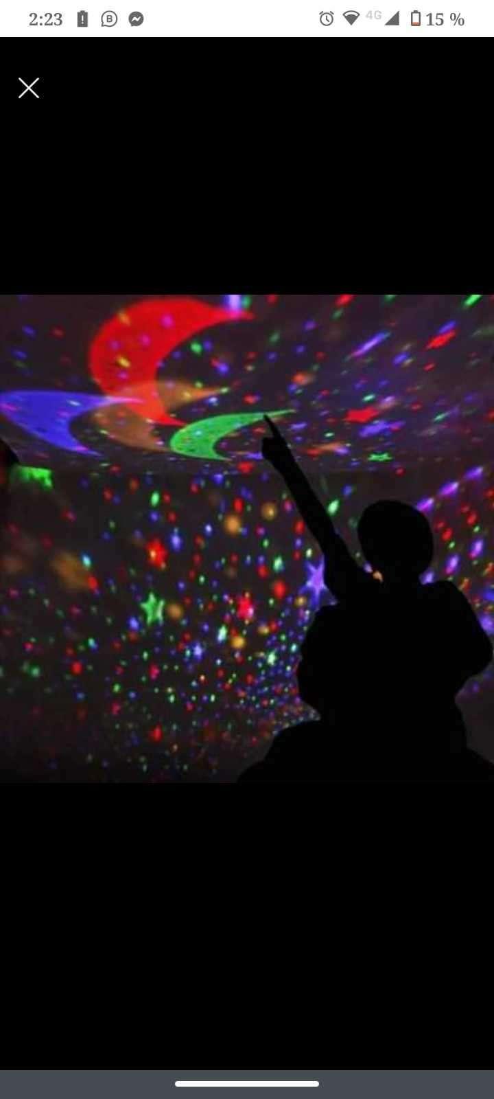 Lámpara proyector de estrella - 1
