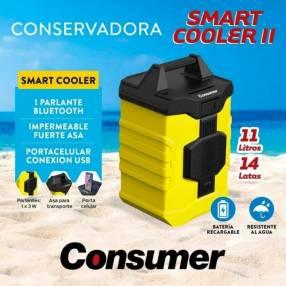 Conservadora smart cooler II de 11 lts