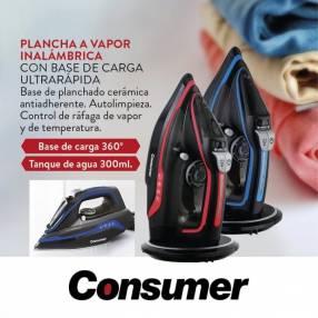 Plancha a vapor inalámbrico Consumer