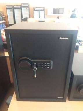 Caja de seguridad Consumer con pantalla LCD