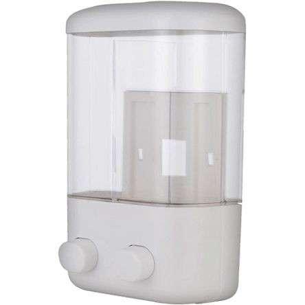 Dispenser de jabón doble 760 ml - 0