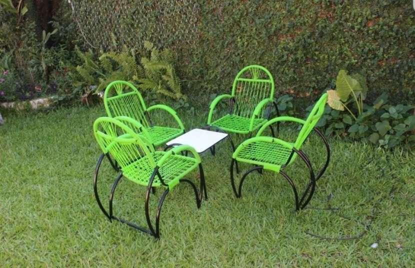 Juego de sillón de cable Araña - 0