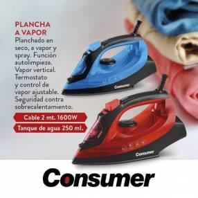 Plancha a vapor Consumer