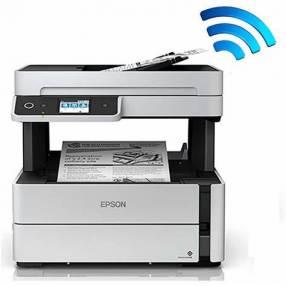 Impresora epson m3170 ecotank wifi/adf/red monocromatico