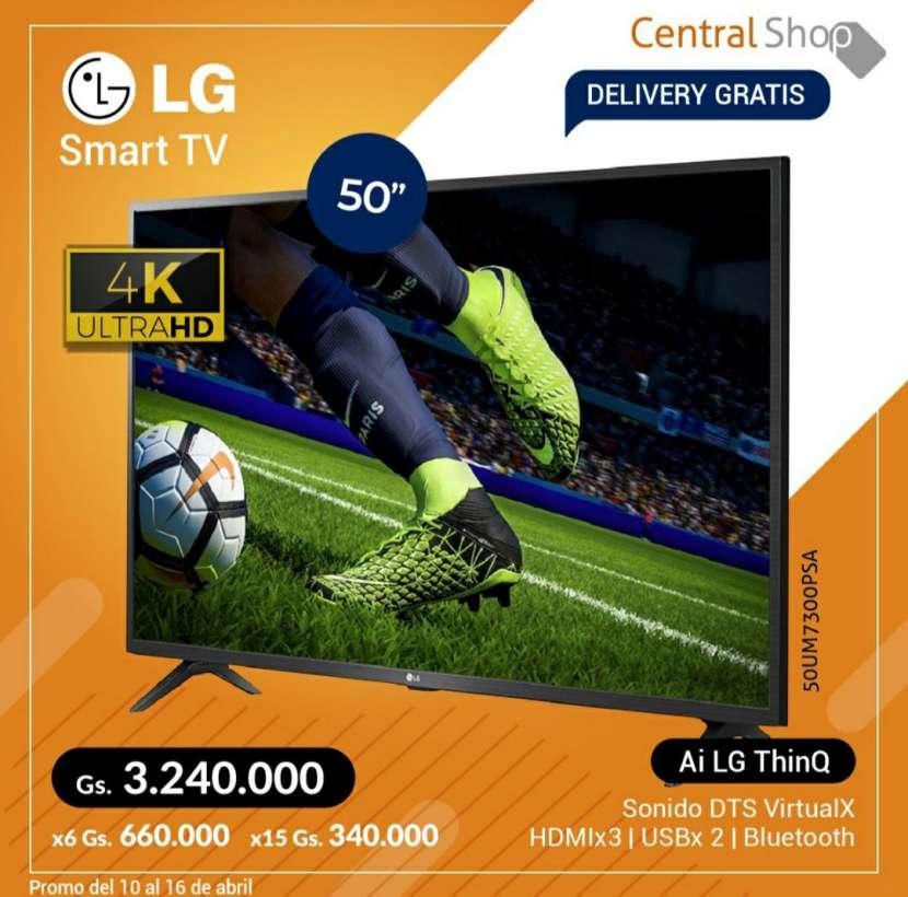 Smart TV LG 50 pulgadas 4K UHD Ai LG Thinq - 0