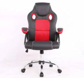Silla gamer rojo negro 100 Kg RGA