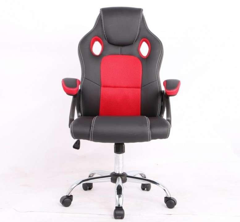 Silla gamer rojo negro 100 Kg RGA - 0
