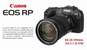Cámara Canon EOS RP Kit 24-105mm f/4-7.1 IS STM
