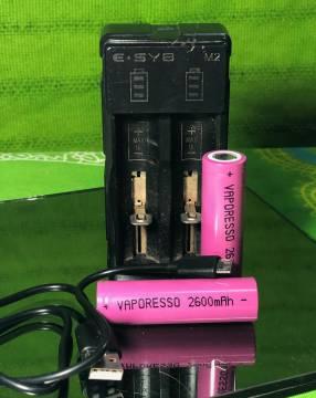 Batería 2.600 mAh para vapeador