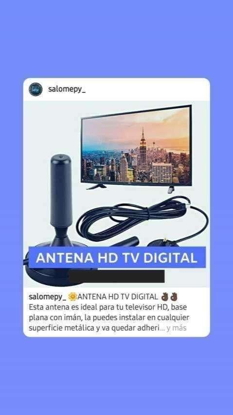 Antena HD digital - 0