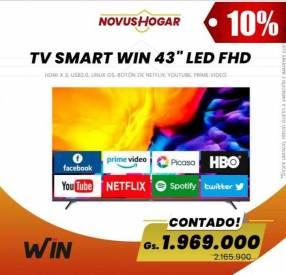 Smart TV Win de 43 pulgadas