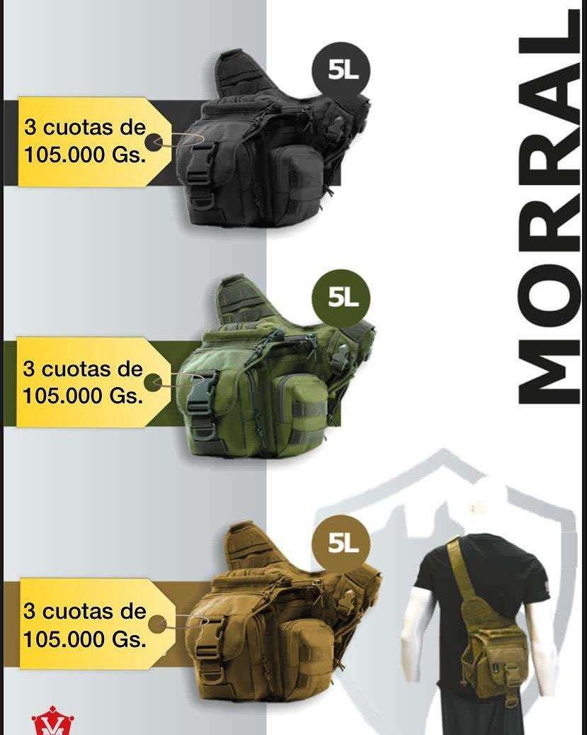 Morral táctico - 0