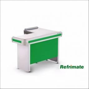 Mesa para cajera metal refrimate 150cm x 100cm