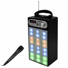 Parlante Satellite AS-371 sd usb bluetooth karaoke