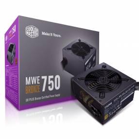 Fuente Cooler Master 750W MWE white V2 80+