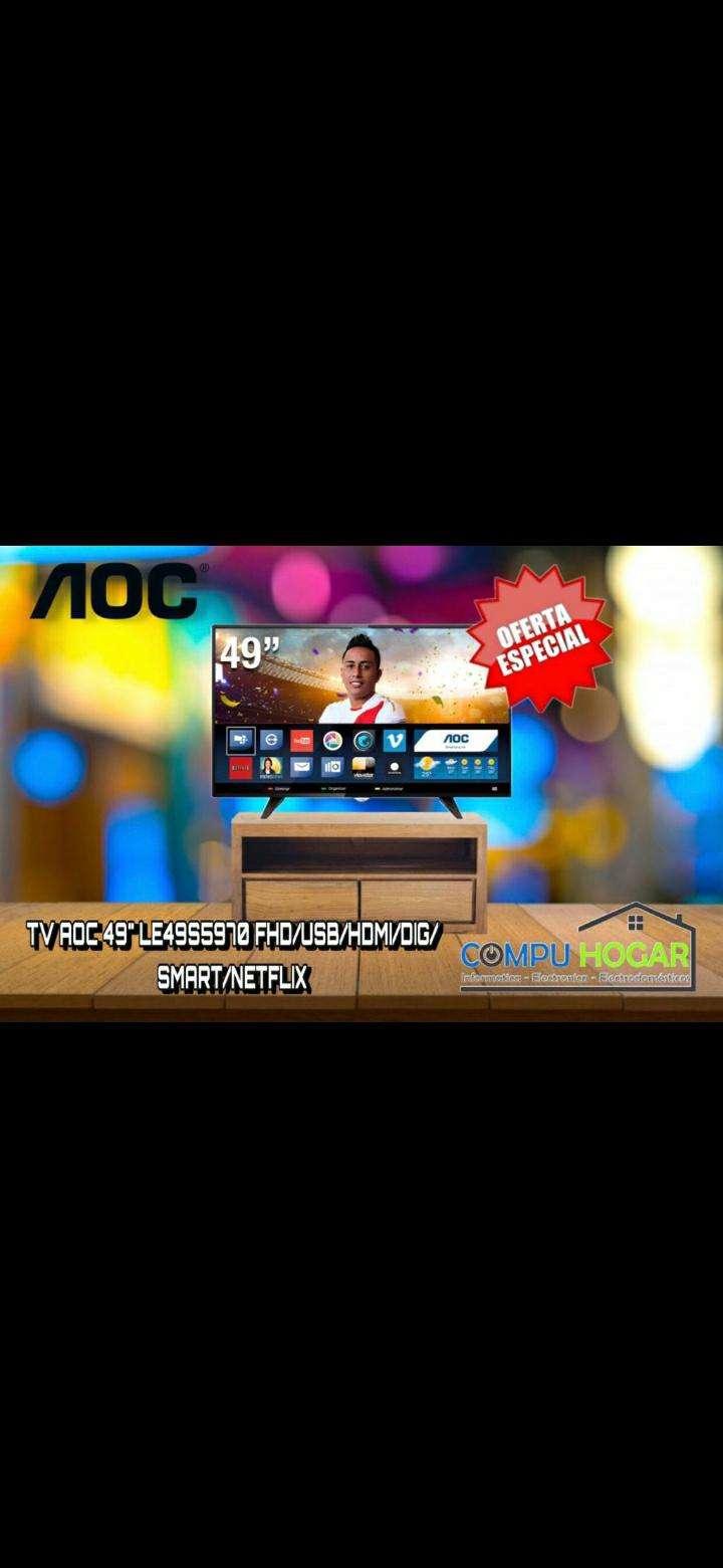 Televisor Smart de 49 pulgadas - 0