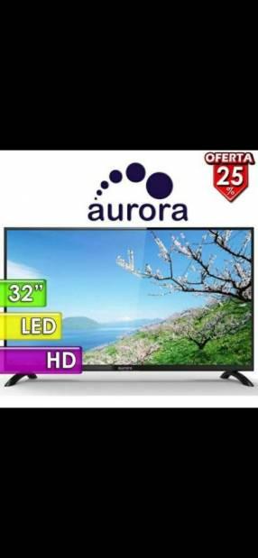 Televisor Aurora de 32 pulgadas