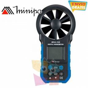 Anemómetro Digital Minipa MDA-10A
