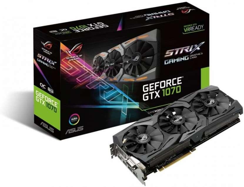 VGA Asus Strix GTX1070 Aura 8GB STRIX-GTX1070-O8G-Gaming - 0