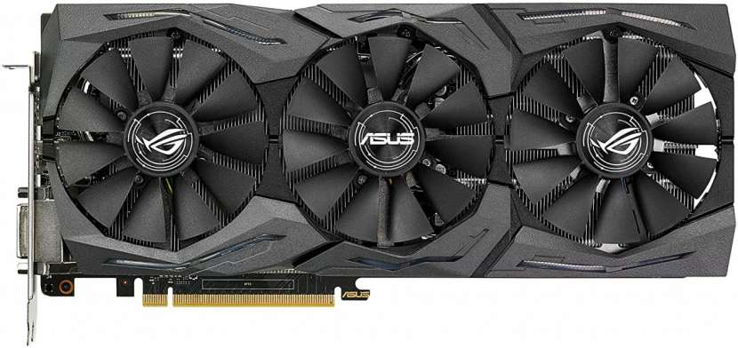 VGA Asus Strix GTX1070 Aura 8GB STRIX-GTX1070-O8G-Gaming - 1