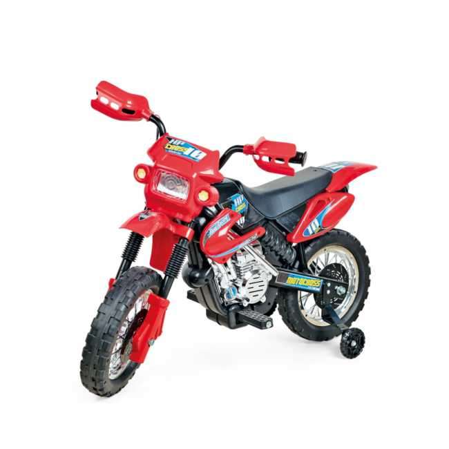 Moto cross eléctrica infantil xplast - 0