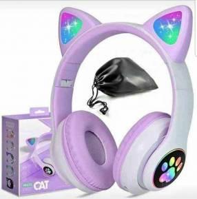 Headset Cat Luo luminosos