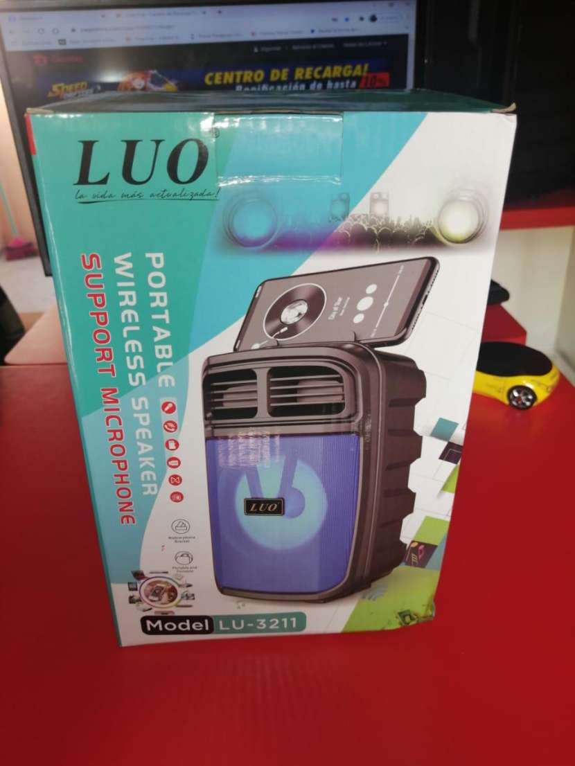 Speaker Luo con porta celular - 0