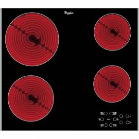 Anafe 4H Whirlpool vitrocerámico panel touch