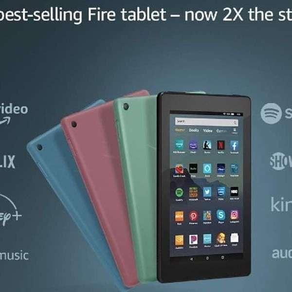 Tablet Amazon de 7 pulgadas - 2