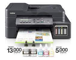 Impresora brother dcp-t710w multifuncion color y negro