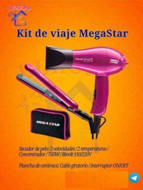Planchita + secador Mega Star